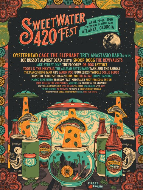Sweetwater420fest 2020 FinalLineup HP 2000px