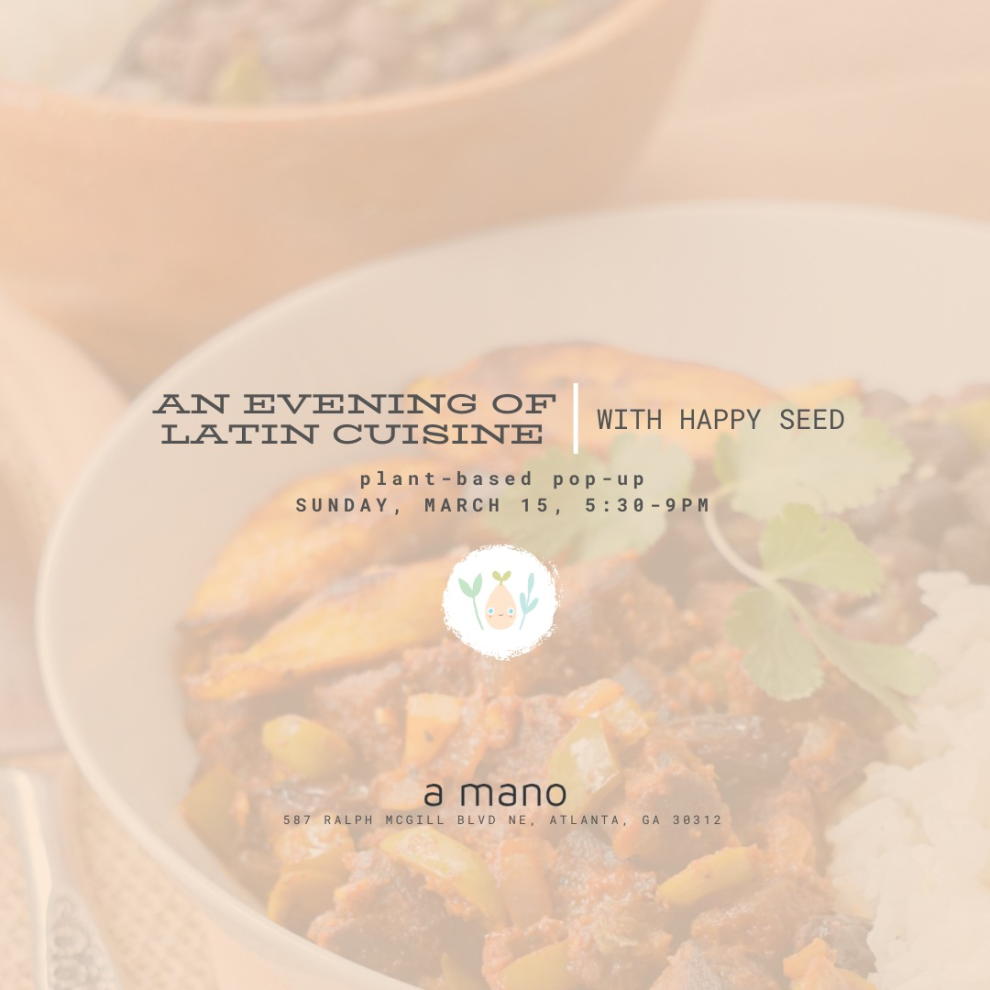 Happy See   Evening Of Latin Cuisine Pop Up