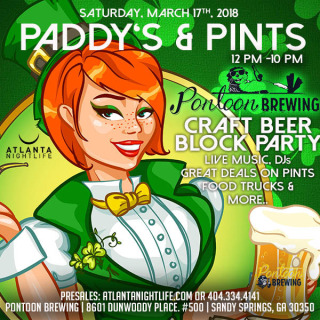 St Patricks Day Atlanta Beer Festival Party