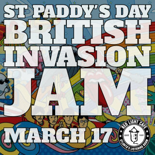 St Paddys Day British Invasion Jam W Badash Allstar Team At Red Light Cafe Atlanta Ga Mar 17 2020 Square