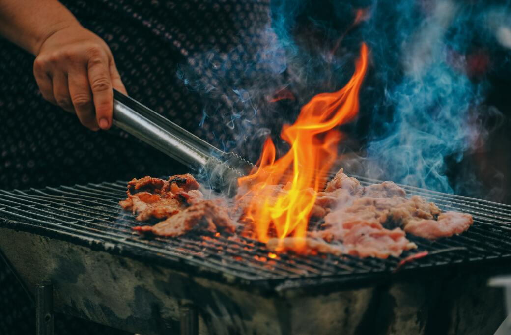 Close Up Photo Of Man Cooking Meat 1482803
