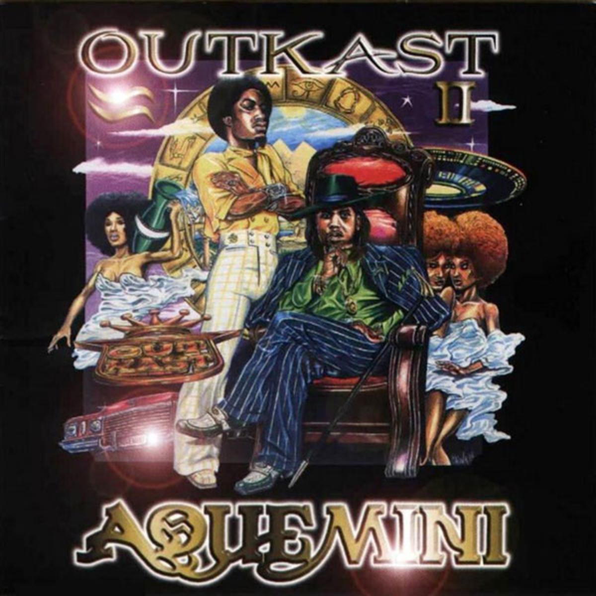 GOD BLESS THE CHILD THAT'S GOT HIS OWN: Andre and Big Boi came into their own on ''Aquemini''. Courtesy of LAFACE RECORDS
