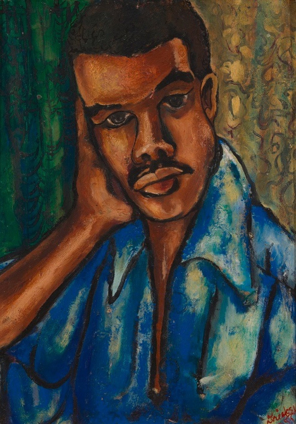 David Driskell Self Portrait
