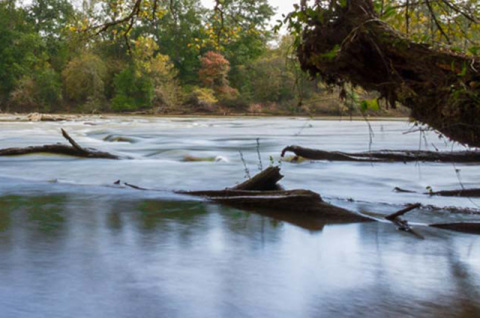 Island Ford Park At The Chattahoochee River
