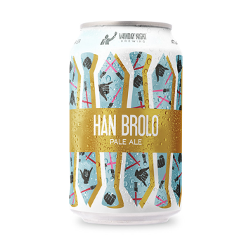 Han Brolo Beer From Monday Night Brewing