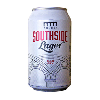 Southside Lager From Arches Brewing Company