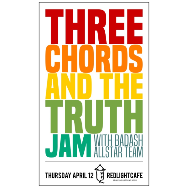 Three Chords And The Truth Jam W Badash Allstar Team Atlanta