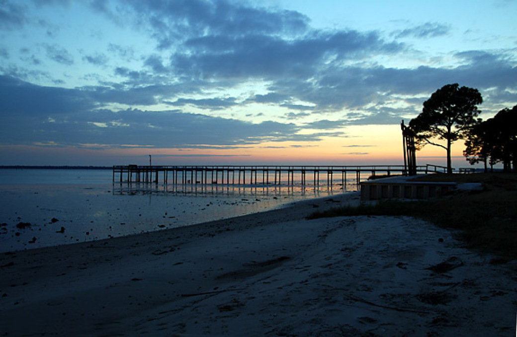 CL File Photo 2004, Panacea is a coastal town along Florida's Panhandle.