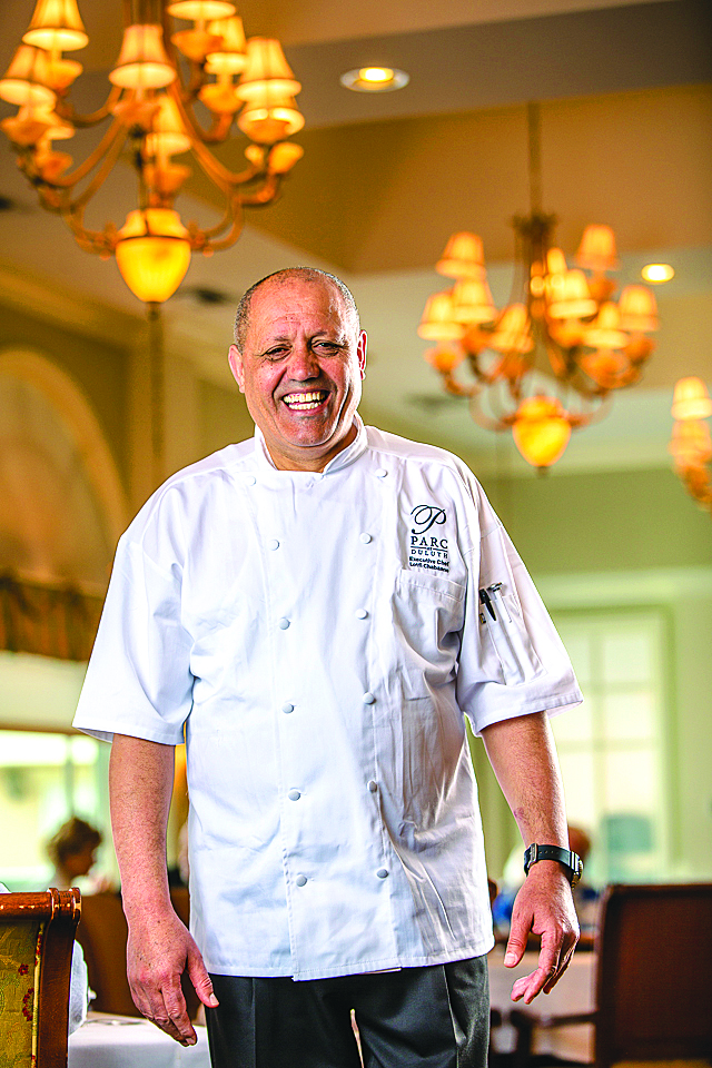 TUNISIAN CHEF: Chef Lotfi Chabaane of Parc Duluth. Photo by Erik Meadows.