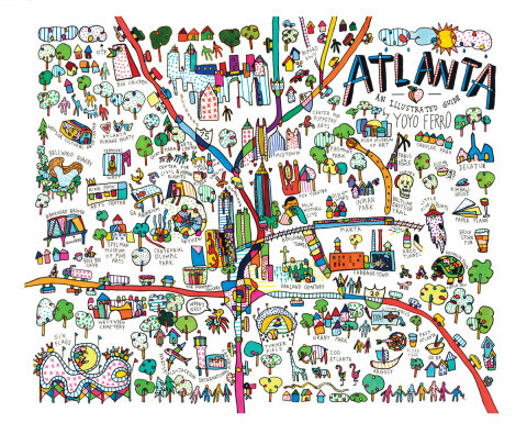 YOYOFERRO AtlantaIllustratedGuide CMYK
