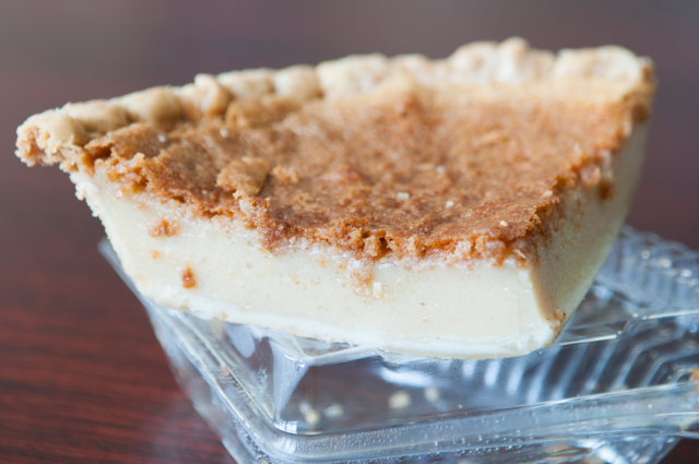 BLUE SEAS EXPRESS & CATERING: Supreme bean pie. Photo by JOEFF DAVIS