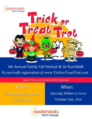 2018 Trick Or Trot Poster Small