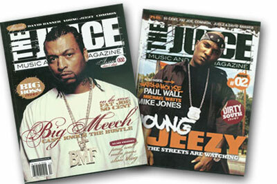 DOUBLE EXPOSURE: In the summer of 2005, the covers of BMF Entertainment's magazine ''The Juice'' featured Meech on one side and Young Jeezy on the other.